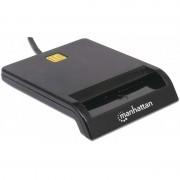 Lettore e Scrittore Smart Card MANHATTAN - I-CARD CAM-USB2