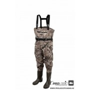 CIZME - PROLOGIC Max5 Nylo-Stretch Chest Wader w/Cleated 44/45 - 9/10