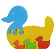Skillofun Take Apart Puzzle Goose Three Kids, Multi Color