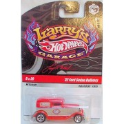 Hot Wheels 2009 Larry's Garage #8/20 '32 Ford Sedan Delivery with Real Riders Tires Collectible Car
