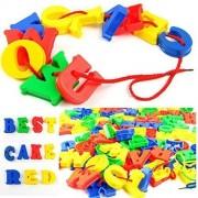 SUPER TOYS ABCD Letters Block Set, Educational Alphabets (Alphabet ABCD)