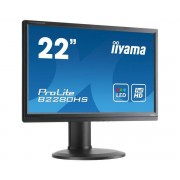 "IIYAMA Monitor 22"" Iiyama Prolite B2280hs-B1 Led Full Hd Hdmi Vga Refurbished Altoparlanti Integrati"