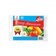 Pungi alimentare Aco incolore 2kg 90/set