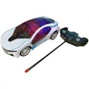 SHRIBOSSJI LED Light Fast Modern Car with Remote Control (Multicolor)