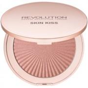 Makeup Revolution Skin Kiss iluminador tono Peach Kiss 14 g