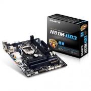 MB GIGABYTE H81M-HD3, LGA1150, Intel H81, 2xDDR3, VGA, mATX