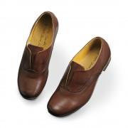 4E・軽やかレザースリップオンシューズ ホワイトサンズ シューズ 【ライトアップショッピングクラブ】