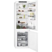 Хладилник с фризер за вграждане AEG SCE81826TS