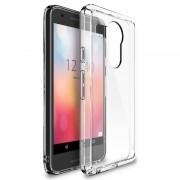 Husa Protectie Spate Ringke Fusion Crystal View transparenta plus folie protectie display pentru LG Nexus 5X 2015