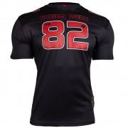 Gorilla Wear Fresno T-Shirt - Black/Red - L