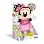 Zornaitoare De Plus Minnie Mouse.Urechile sfosnesc burtica scoate sunete iar piciorusele sunt elastice.