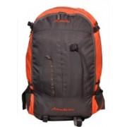 Attache Hiking Backpack (Orange & Grey) With Rain Cover Rucksack - 35 L(Orange)