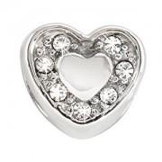 Morellato Pandantiv din oțel Drops Heart Crystals SCZ126