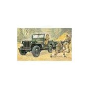 Italeri Ita314 Willys Mb Jeep With Trailer 1:35