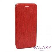 Futrola BI FOLD Ihave Glitter za Huawei P20 Lite crvena