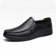 Zapatos Para Hombre Con De Ecocuero Vacuno - Negro