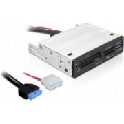 Card reader Delock USB 3.0 in 1 pentru bay 3.5 inch 91725