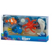 Set figurine Dory, Hank, Bailey si Marlin din Finding Dory