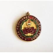 Insigna militara comemorativa 20 ani