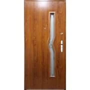 Drzwi stalowe z przeszkleniem CELEBES