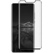 Screenprotector Tempered Glass Curved Huawei Mate 20 Pro Transparant Zwart (Half Glue)