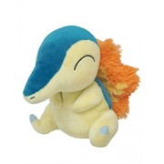 Sanei Pokemon All Star Collection - PP41 - Cyndaquil Stuffed Plush, 6""