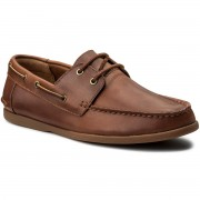 Мокасини CLARKS - Morven Sail 261324827 Tan Leather