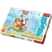 Trefl - Puzzle Magic Decor Winnie The Pooh, 15 piese