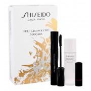 Shiseido Full Lash 8Ml Full Lash Volume Mascara 8 Ml + Instant Eye And Lip Makeup Remover 30 Ml + Lipstick Rouge Rouge 2,5 G Rd301 Ruby Copper Per Donna Mascara Typevolume(Mascara)