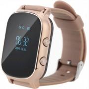"Smartwatch iUni Kid58, 0.96"", GPS, Bratara silicon (Auriu)"