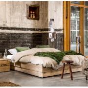 Livengo Steigerhout bed Bando
