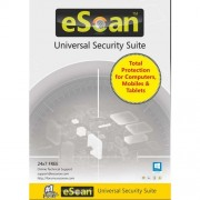 Antivirus, eScan Universal Security Suite (3-device License) - 1 year (Multi-device License) - For All OS (ES-UNI-3)