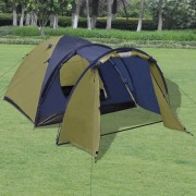 vidaXL 4-person Tent Green