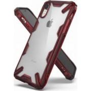 Husa iPhone XR Ringke FUSION X Transparent Rosu