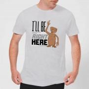 E.T. the Extra-Terrestrial Camiseta E.T. el extraterrestre I'll Be Right Here - Hombre - Gris - L - Gris