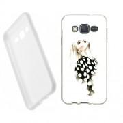 Husa Samsung Galaxy J5 J500 Silicon Gel Tpu Model Women Draw V2
