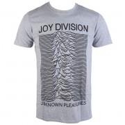 tricou stil metal bărbați Joy Division - Unknown Pleasures - PLASTIC HEAD - PH10116