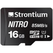Strontium Nitro 16 GB SDHC Class 10 85 Mbps Memory Card