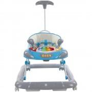 Premergator cu control parental Super Car Sun Baby Albastru cu Gri