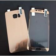 2в1 Удароустойчив протектор за Samsung G928 Galaxy S6 Edge Plus Златен