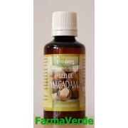 Ulei de macadamia rafinat 50ml Adams Vision