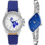 TRUE CHOICE NEW PACK 2 BEST LOOK WOMEN N GIRLS WATCHES WITH 6 MONTH WARRANTY