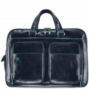 Piquadro Blue Square Maletín piel 41 cm compartimento portátil