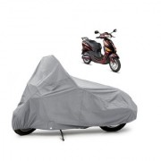 AutoAge Two Wheeler Silver Cover for Hero Electric Bikes Electric Optima Plus