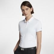 Polo de golf Nike Dri-FIT pour Femme - Blanc