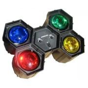 Proiector lumini cu 4 leduri QL-98-4A