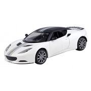 Motormax 1:24 Lotus Evora S Diecast Car with Matt Finish (Matt White)