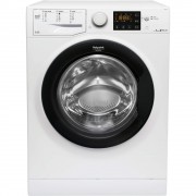 Masina de spalat rufe Hotpoint Ariston Natis RSSG 724 JB EU, 7 KG, 1200 rpm, Display digital, Woolmark Green, Clasa A+++, Slim, Alb