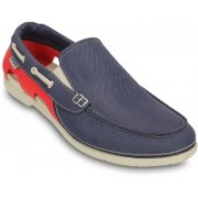 Crocs Beach Line Boat Slip-on M Casuals For Men(Blue)