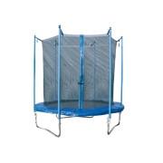Trambulina + plasa protectie M exterior 244 cm